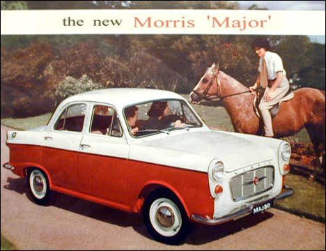 1960 Morris Major Series II Ad