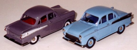 Two Morris Major Models by Weico