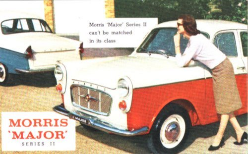 1959-60 Morris Major Series II Ad