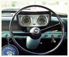 Morris Major Steering wheel